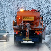 Winter road maintenance services